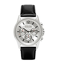 COACH BLACK CLASSIC SIGNATURE SPORT STRAP WATCH