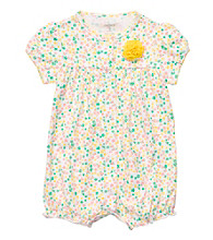 Carter's® Baby Girls' Yellow Multi Floral Creeper