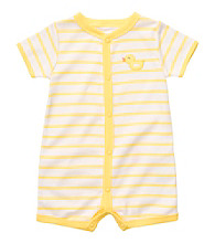 Carter's® Baby Yellow/Grey Striped Duck Creeper