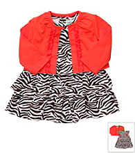 Carter's® Baby Girls' Zebra Dress Set