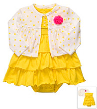 Carter's® Baby Girls' Yellow Dress Set