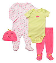 Carter's® Baby Girls' Pink/Green 4-pc. Cherries Set