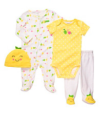 Carter's® Baby Girls' Yellow 4-pc. Fruit Set