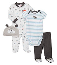 Carter's® Baby Boys' Grey 4-pc. Dog Set