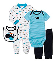 Carter's® Baby Boys' Blue 4-pc. Whale Set