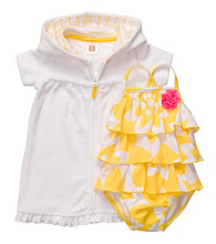 Carter's® Baby Girls' Yellow 2-pc. Swim Set
