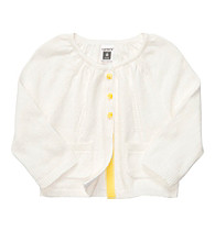 Carter's® Baby Girls' White Cardigan