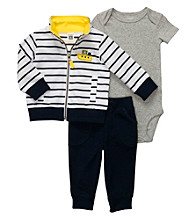 Carter's® Baby Boys' Navy Striped 3-pc. Cardigan Set