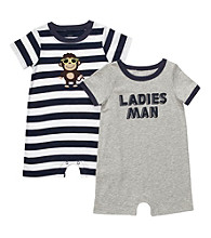 Carter's® Baby Boys' Grey/Navy 2-pk.