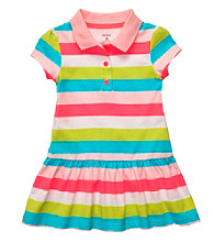 Carter's® Baby Girls' Multi Striped Polo Dress