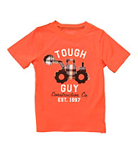 Carter's® Baby Boys' Orange Tractor Tee