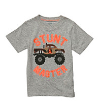 Carter's® Baby Boys' Grey Monster Truck Tee