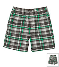 Carter's® Baby Boys' Blue/Green Plaid Shorts
