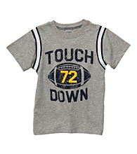 Carter's® Baby Boys' Grey Touchdown Tee