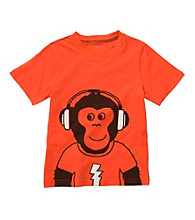Carter's® Baby Boys' Orange Monkey Tee