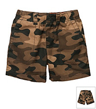 Carter's® Baby Boys' Brown Camo Woven Shorts