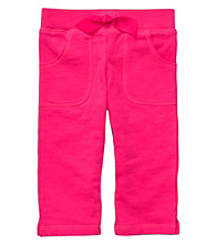 Carter's® Baby Girls' Hot Pink Capri Pants
