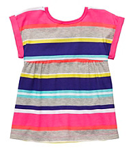 Carter's® Girls' 4-6X Multi Striped Short Sleeve Tee