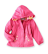 London Fog® Girls' 2T-6X Fleece Lined Jacket