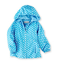London Fog® Girls' 2T-6X Polka-Dot Fleece Lined Jacket