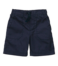 Carter's® Boys' 2T-7 Navy Woven Pull On Shorts