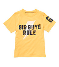 Carter's® Boys' 2T-7 Yellow Short Sleeve