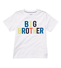 Carter's® Boys' 2T-7 White Short Sleeve