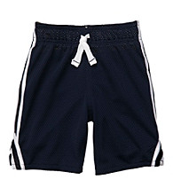 Carter's® Boys' 2T-7 Navy Mesh Knit Shorts