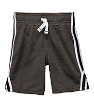 Carter's® Boys' 2T-7 Grey Mesh Knit Shorts