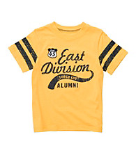 Carter's® Boys' 2T-7 Yellow Short Sleeve East Division Tee