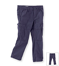 OshKosh B'Gosh® Boys' 2T-7 Navy Slub Canvas Cargo Pants