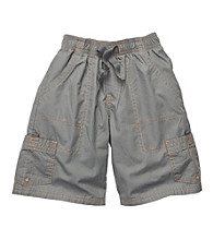 OshKosh B'Gosh® Boys' 2T-7 Grey Volleyball Cargo Shorts