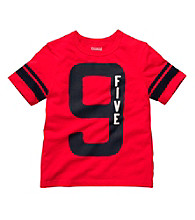 OshKosh B'Gosh® Boys' 4-7 Red Short Sleeve 9 Five Tee