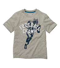 OshKosh B'Gosh® Boys' 4-7 Grey Short Sleeve