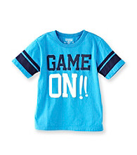 OshKosh B'Gosh® Boys' 4-7 Turquoise Short Sleeve