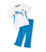 PUMA® Boys' 2T-7 Cat Performance 2-pc. Pants Set