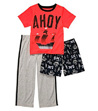 Carter's® Boys' 4-12 Red/Grey 3-pc.