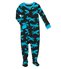 Carter's® Baby Boys' Navy Airplane Footie Pajamas