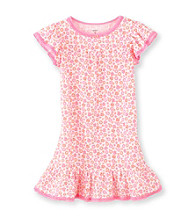 Carter's® Girls' 4-14 Neon Pink Floral Print Sleep Gown
