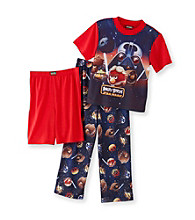 Angry Birds™ Boys' 4-12 Navy 3-pc. Star Wars Pajama Set