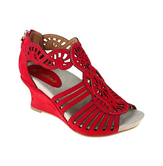 "Earthies® ""Caradonna"" Wedge Sandal"