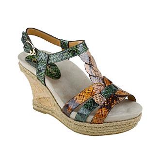 "Earthies® ""Corsica"" Wedge Sandals"