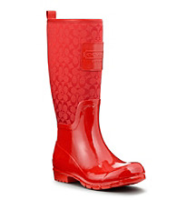 COACH PEARL RAINBOOT