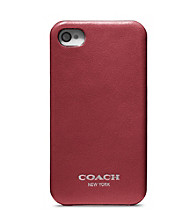 COACH LEGACY LEATHER MOLDED IPHONE ®4 CASE
