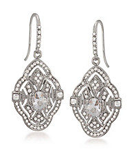 Carolee® Faux Drop Pierced Earrings