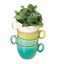 Gerson Stacked Mug Planter