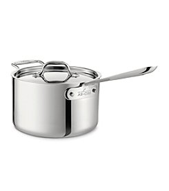 All-Clad® 4-qt. Stainless Steel Saucepan with Lid