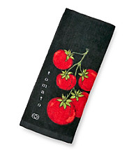 Calphalon® Tomatoes and Licorice Kitchen Towel