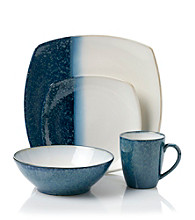 Sango Metallic Blue 16-pc. Dinnerware Set