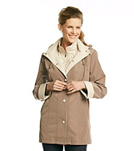 Breckenridge® Snap-Front Hooded Bibby Coat
